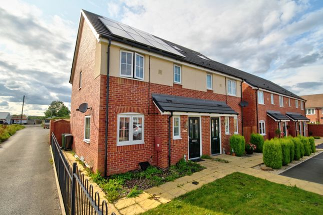 Thumbnail Semi-detached house for sale in Bridleway Views, Evesham