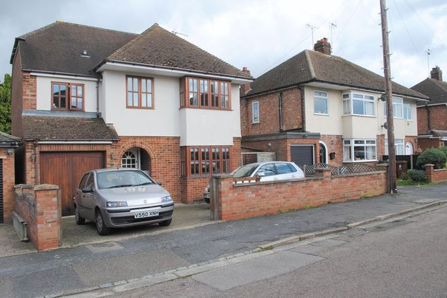 Detached house for sale in Link Road, Rushden