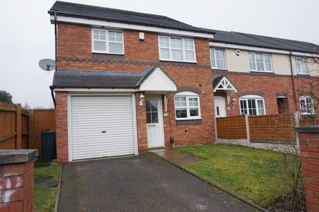 Thumbnail End terrace house to rent in Gunter Road, Erdington, Birmingham