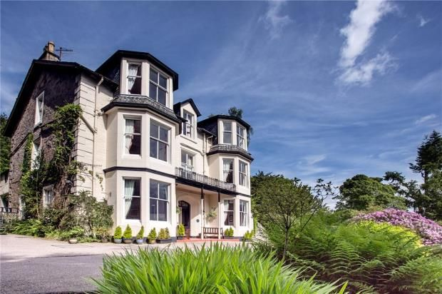 Thumbnail Detached house for sale in Abbots Brae Hotel, Cottage & Land, 55 Bullwood Road, Dunoon, Argyll And Bute