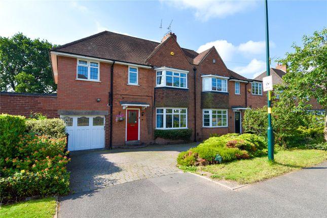 Thumbnail Semi-detached house for sale in Meadow Brook Road, Bournville Village Trust, Northfield, Birmingham