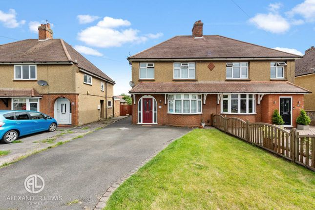 Thumbnail Semi-detached house for sale in Church Road, Stotfold, Hitchin