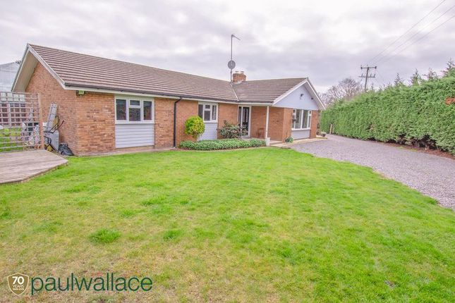 Thumbnail Detached bungalow for sale in Hoe Lane, Nazeing, Waltham Abbey