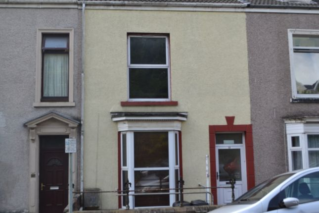 Thumbnail Terraced house to rent in Carlton Terrace, Mount Pleasant, Swansea