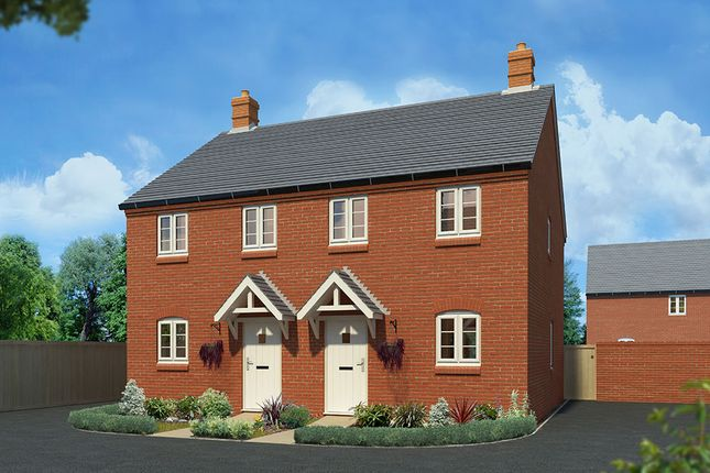 """2 bedroom semi-detached house for sale in """"The Hawthorn"""" at Towcester Road, Silverstone, Towcester"""