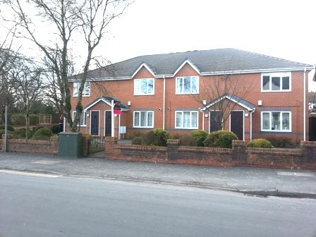 Thumbnail Flat to rent in New Hall Lane, Bolton