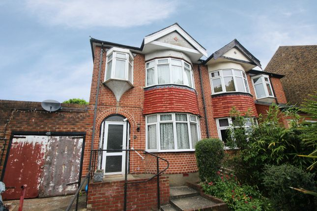 Thumbnail Semi-detached house for sale in Glenville Avenue, Enfield, Middlesex