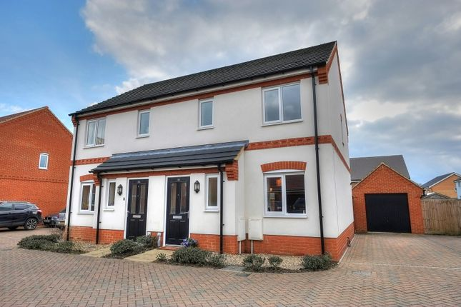 Thumbnail Semi-detached house for sale in Verbena Road, Norwich