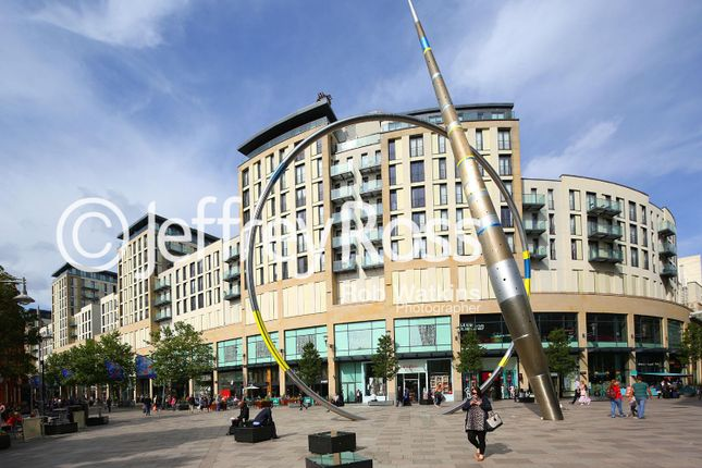 Thumbnail Flat to rent in The Hayes, Cardiff