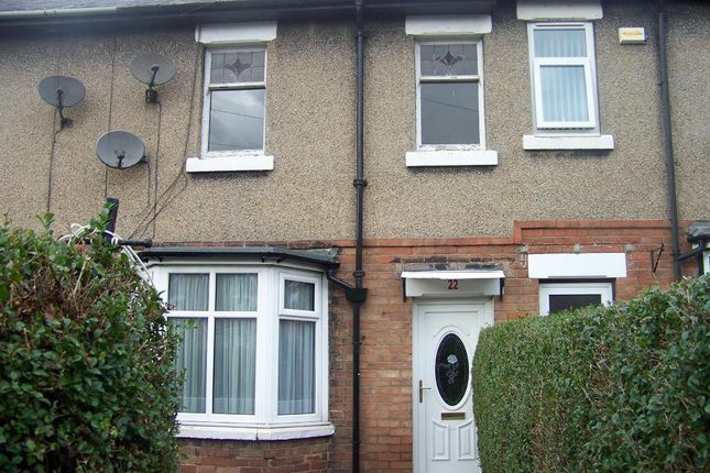 Thumbnail Terraced house to rent in Cavendish Gardens, Ashington