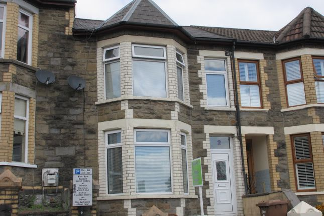 Thumbnail Terraced house for sale in Wood Street, Bargoed