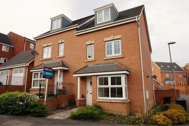 Thumbnail Town house to rent in Twentyman Walk, Leeds