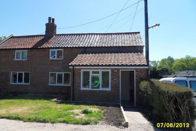Thumbnail End terrace house to rent in Low Street, Ilketshall St. Margaret, Bungay