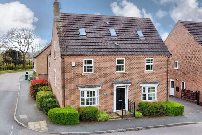 Thumbnail Detached house for sale in Mitchell Grove, Scraptoft, Leicester