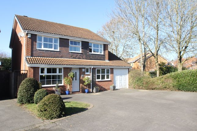 Thumbnail Detached house for sale in Dale Meadow Close, Balsall Common, Coventry