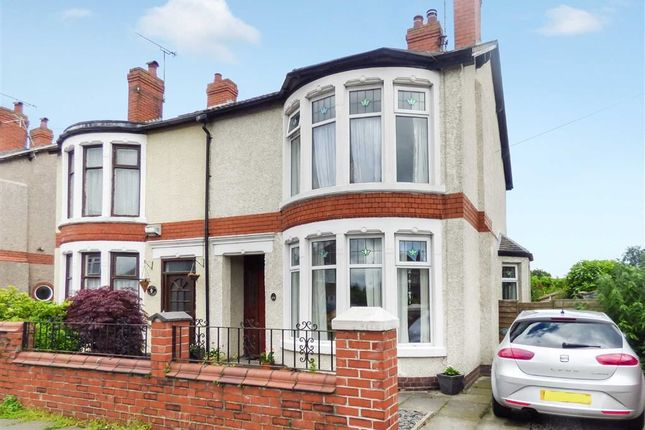 Thumbnail Semi-detached house for sale in Gainsborough Road, Crewe