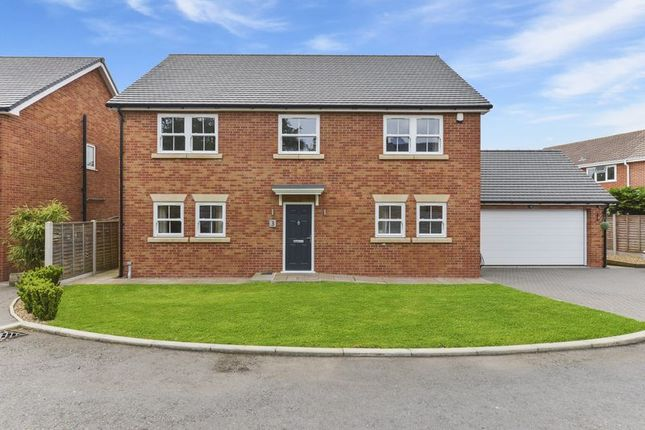 Thumbnail Detached house for sale in St Peter's Court, Adderley, Market Drayton