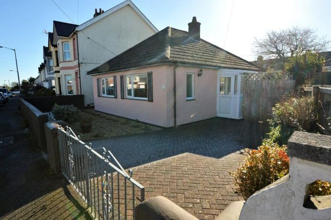 Thumbnail Detached bungalow for sale in Longview Road, Saltash, Cornwall