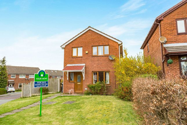 Thumbnail Detached house for sale in Foxfold, Skelmersdale