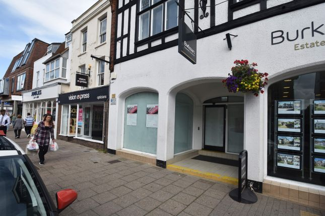 Thumbnail Retail premises to let in 96 High Street, Lymington
