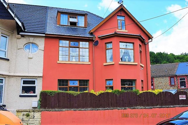 Thumbnail Semi-detached house for sale in Rheola Street, Mountain Ash