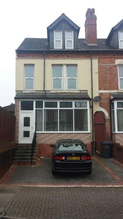 Thumbnail Terraced house to rent in Dora Road, Birmingham