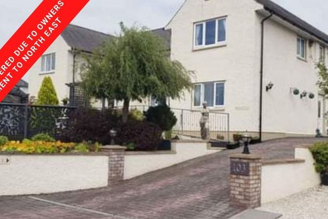 Thumbnail Semi-detached house for sale in Annan Road, Gretna, Dumfries & Galloway