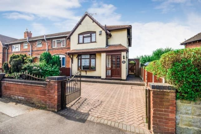 Thumbnail End terrace house for sale in Chantry Avenue, Walsall, West Midlands