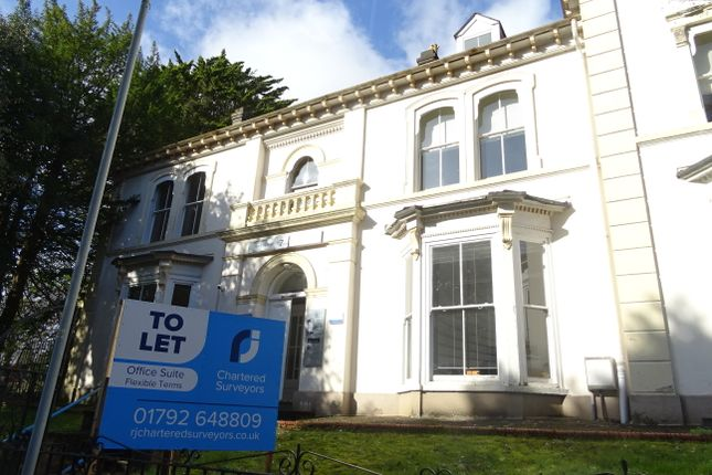 Thumbnail Office to let in St James Crescent, Swansea