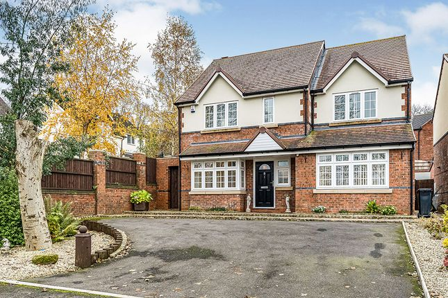 Thumbnail Detached house for sale in Mons Hill, Dudley, West Midlands