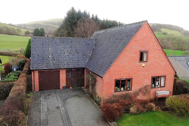 Thumbnail Detached house for sale in Bont Dolgadfan, Powys