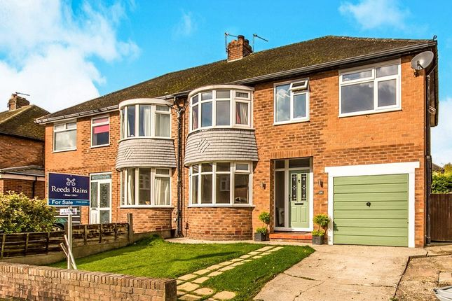 Thumbnail Semi-detached house for sale in Coniston Drive, Handforth, Wilmslow