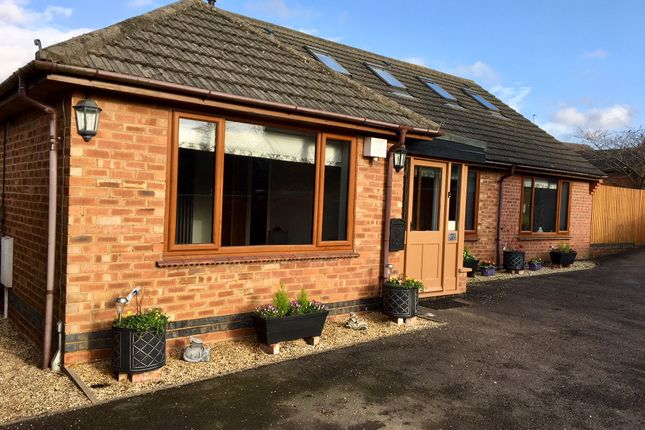 Thumbnail Detached bungalow for sale in Northampton Road, West Haddon, Northampton