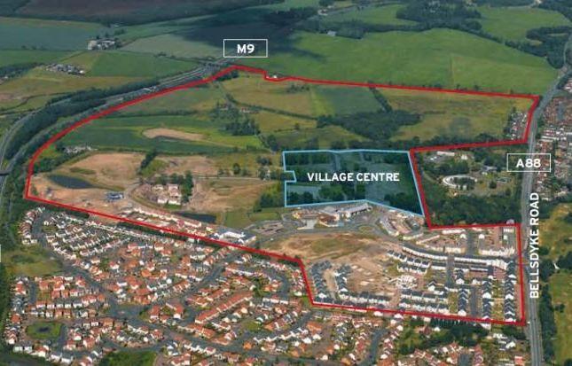 Thumbnail Leisure/hospitality for sale in Kinnaird Village Centre Development Site, Bellsdyke Road, Kinnaird Village, Larbert