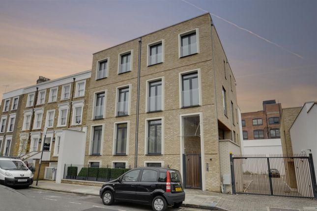 External of Porteus Apartments, Britannia Road, Fulham, London SW6
