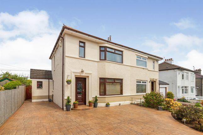 Thumbnail Semi-detached house for sale in Bathgo Avenue, Ralston, Paisley