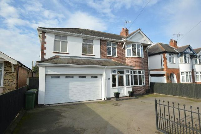 Thumbnail Detached house for sale in Winchester Road, Blaby, Leicester