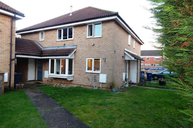 2 bed terraced house for sale in Meadowsweet, Eaton Ford, St. Neots