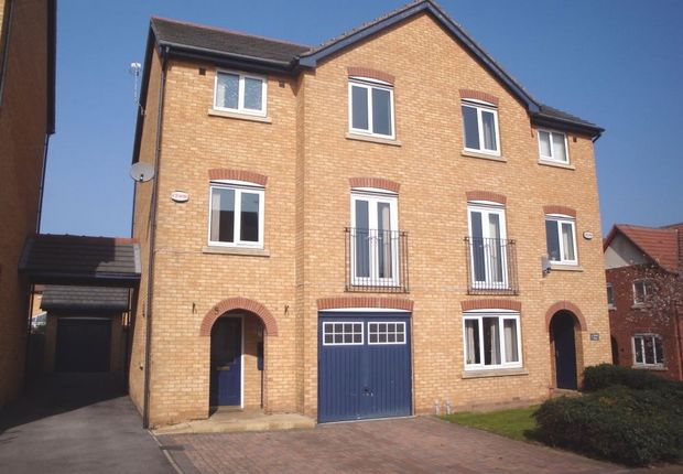 Thumbnail Town house for sale in 5 Island Close, Broom, Rotherham, South Yorkshire