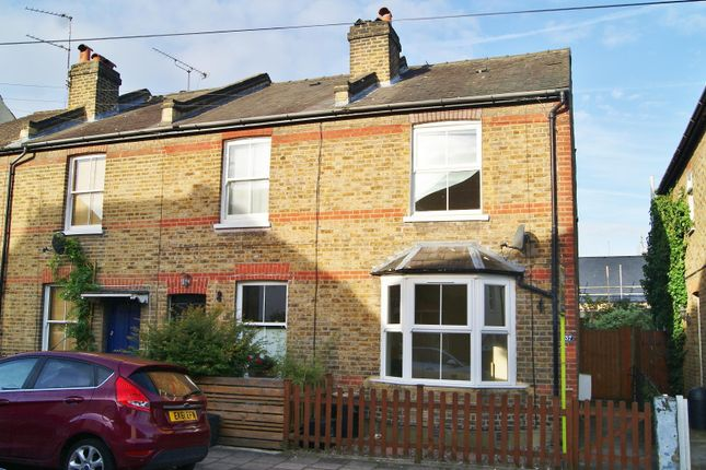 Thumbnail End terrace house to rent in Talbot Road, Twickenham