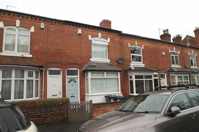 Thumbnail Terraced house for sale in Clarence Road, Harborne, Birmingham