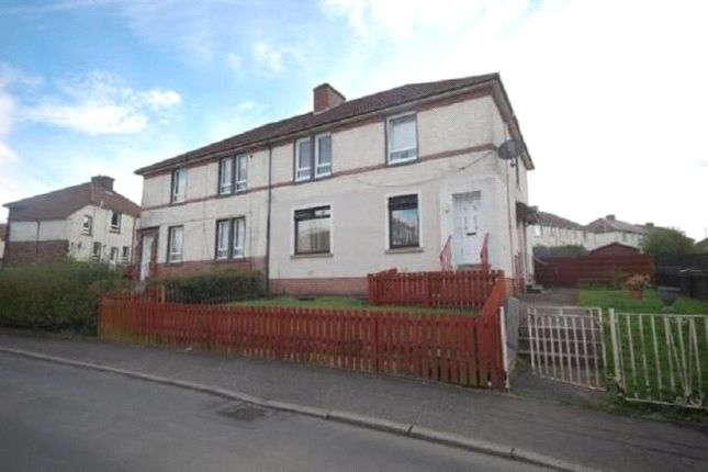 Thumbnail Flat for sale in Hillrigg Avenue, Airdrie, Lanarkshire.