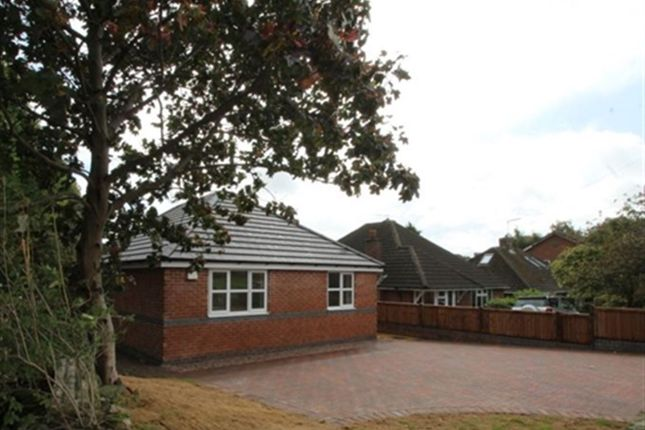 Thumbnail Bungalow to rent in Calow Lane, Hasland, Chesterfield, Derbyshire