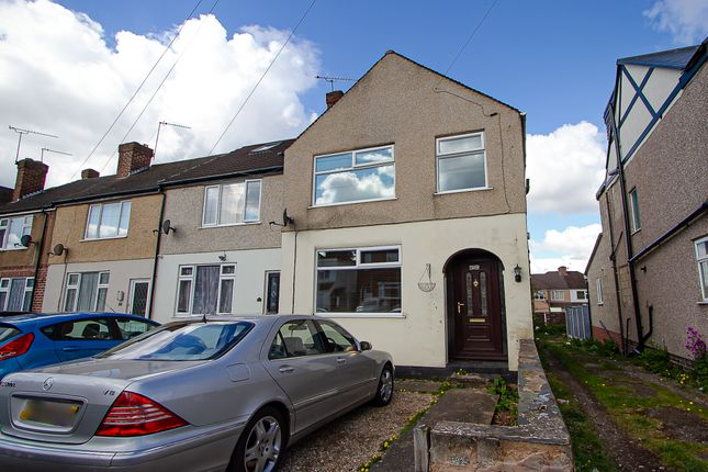 1 bed end terrace house for sale in Silksby Street, Cheylesmore, Coventry CV3