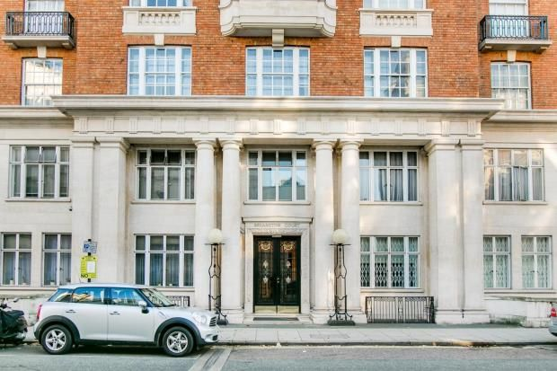 Thumbnail Flat for sale in Bryanston Court, George Street, London