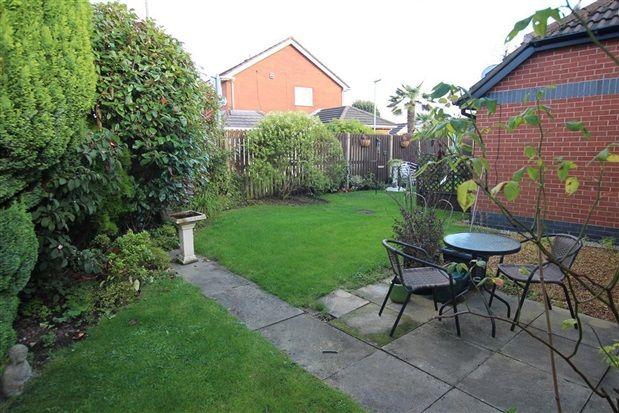 Garden Area of Waters Edge, Ingol, Preston PR2