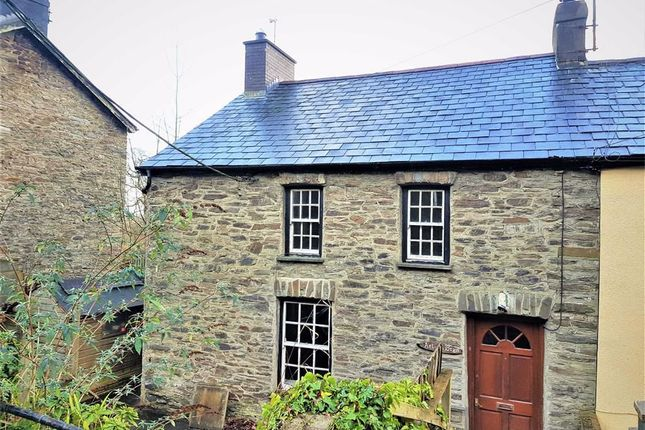 End terrace house for sale in Taliesin, Machynlleth