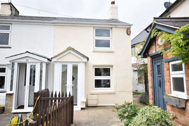 Thumbnail End terrace house to rent in High Street, Eaton Bray, Dunstable