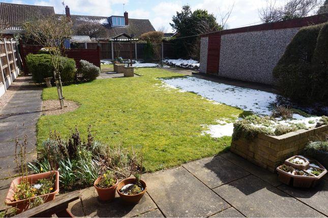 Rear Garden of Armthorpe, Doncaster DN3