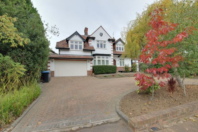 Thumbnail Detached house for sale in Eversley Crescent, Winchmore Hill